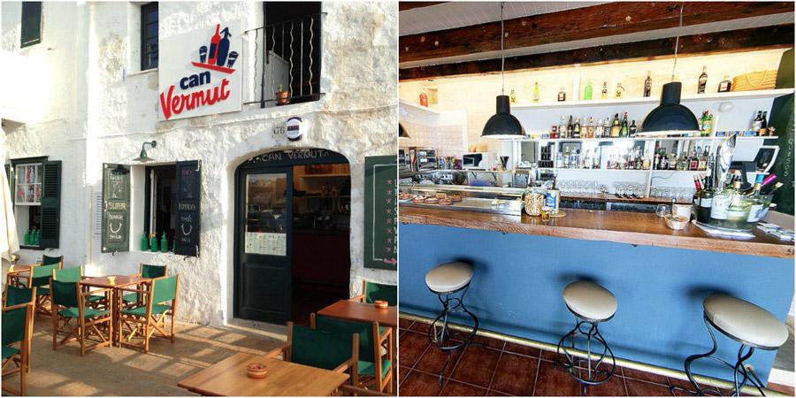 Can vermut , l'endroit a la mode du port de Mahon. Idéal pour déguster les meilleurs tapas de la gastronomie de Minorque.