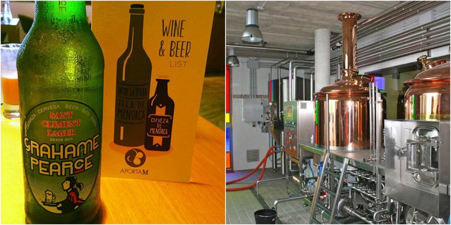 La bière artisanale Graham Pearce, la version bière de la gastronomie de Minorque