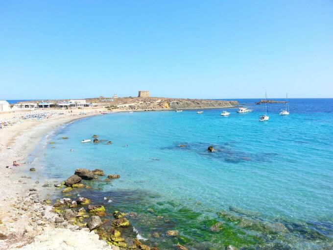 Tabarca, le paradis à 1 heure d'Alicante.