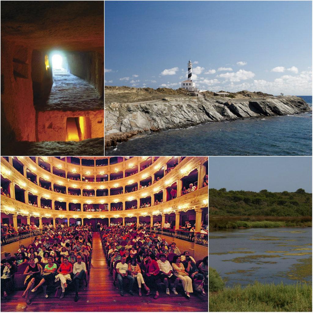 Minorque a de nombreux atouts Touristiques