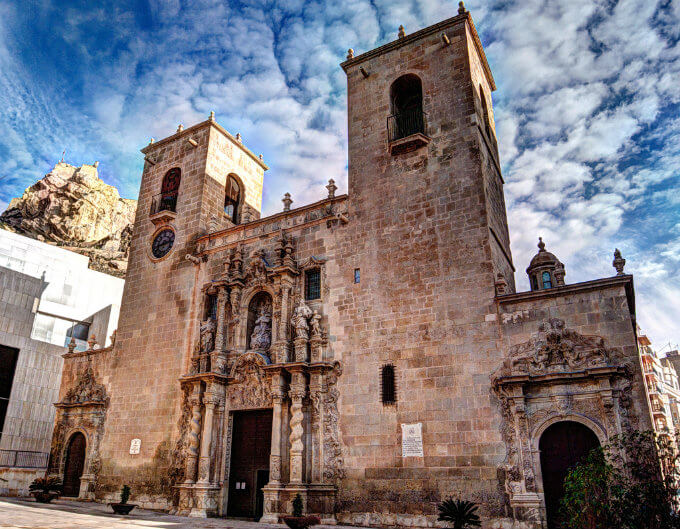 Basilique Santa Maria d'Alicante