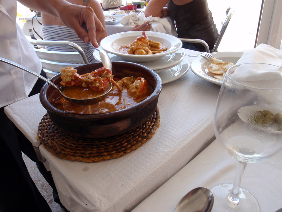 caldereta-langosta , La star de la gastronomie de Minorque