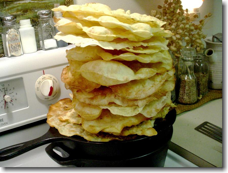 pain maison carasau italie