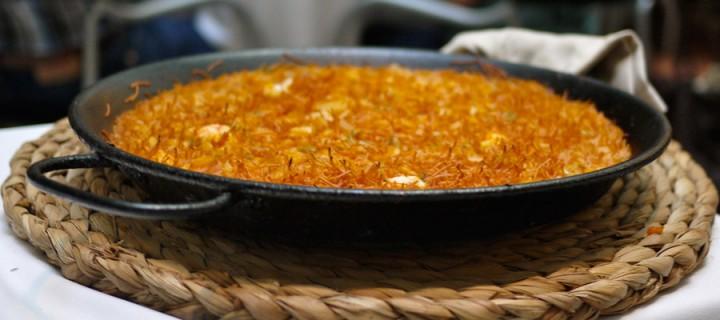 Vous aimez la Paella ? vous allez adorer la Fideua !