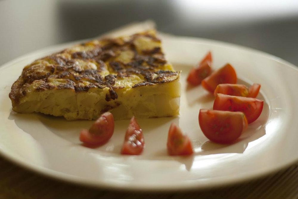Omelette de pomme de terre